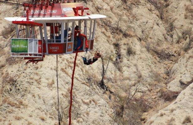 Bungee Jumping, Mexico